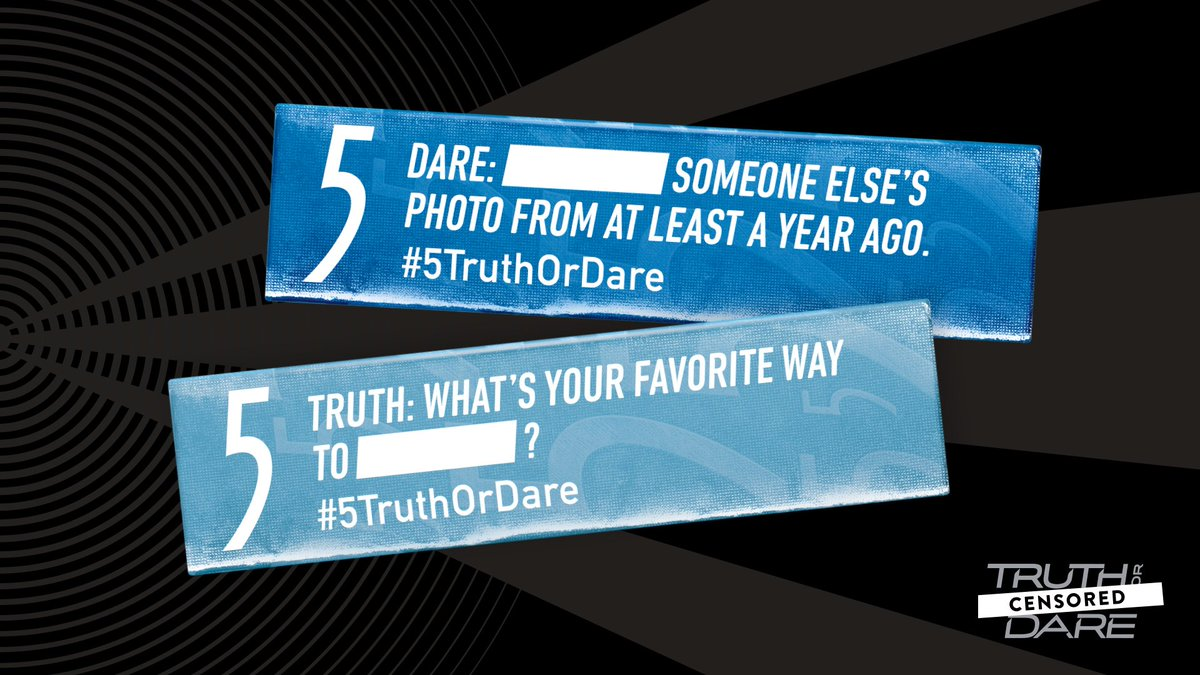 5gum على تويتر 5truthordare Censored Is Here Just