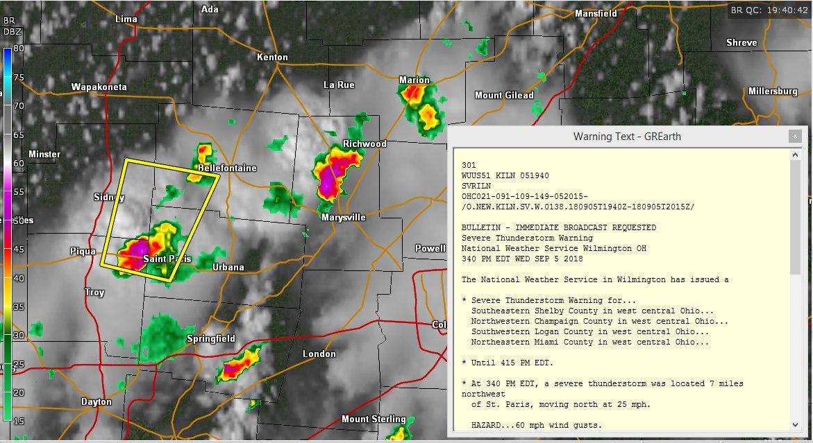New Paris Ohio Map.Tds Weather On Twitter New Severe Thunderstorm Warning Near Saint