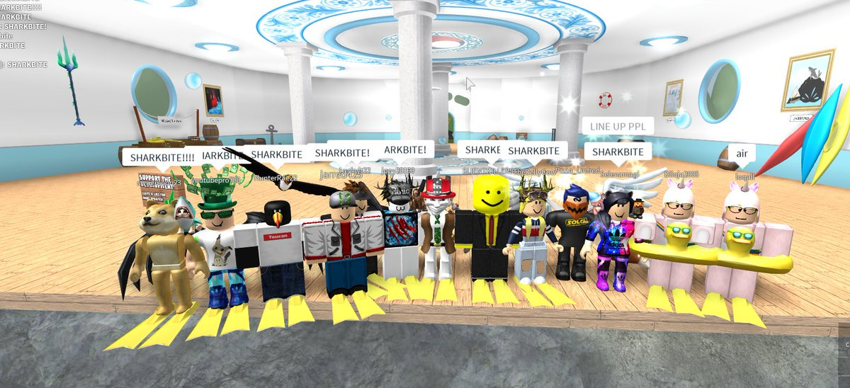 Opplo On Twitter I Hosted A Sharkbite Discord Community Event Last Weekend It Was Great To Meet And Talk With The Roblox Community Participate In Future Events And Exclusive Codes By Joining