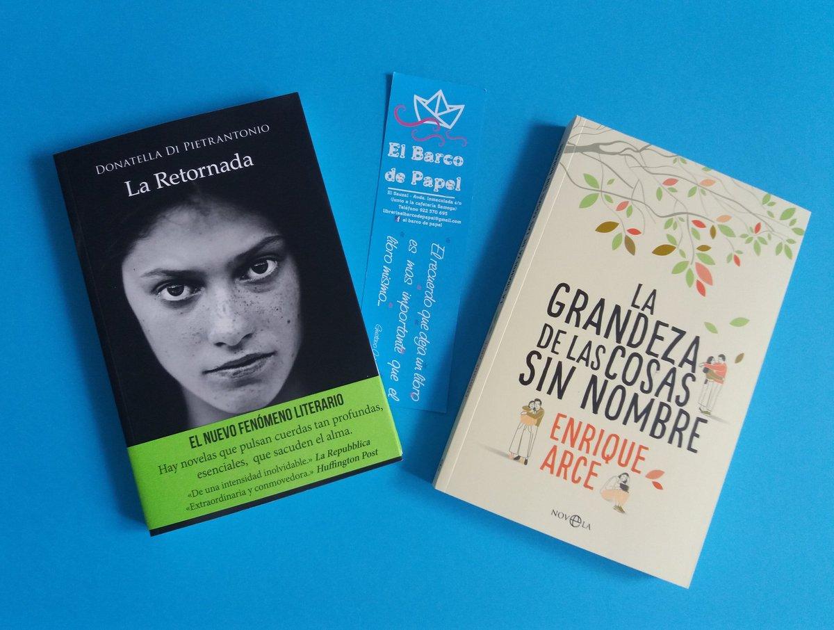 """টুইটারে Librería Barco papel: """"Dos libros que están sorprendiendo mucho. - La  retornada. - La grandeza de las cosas sin nombre."""