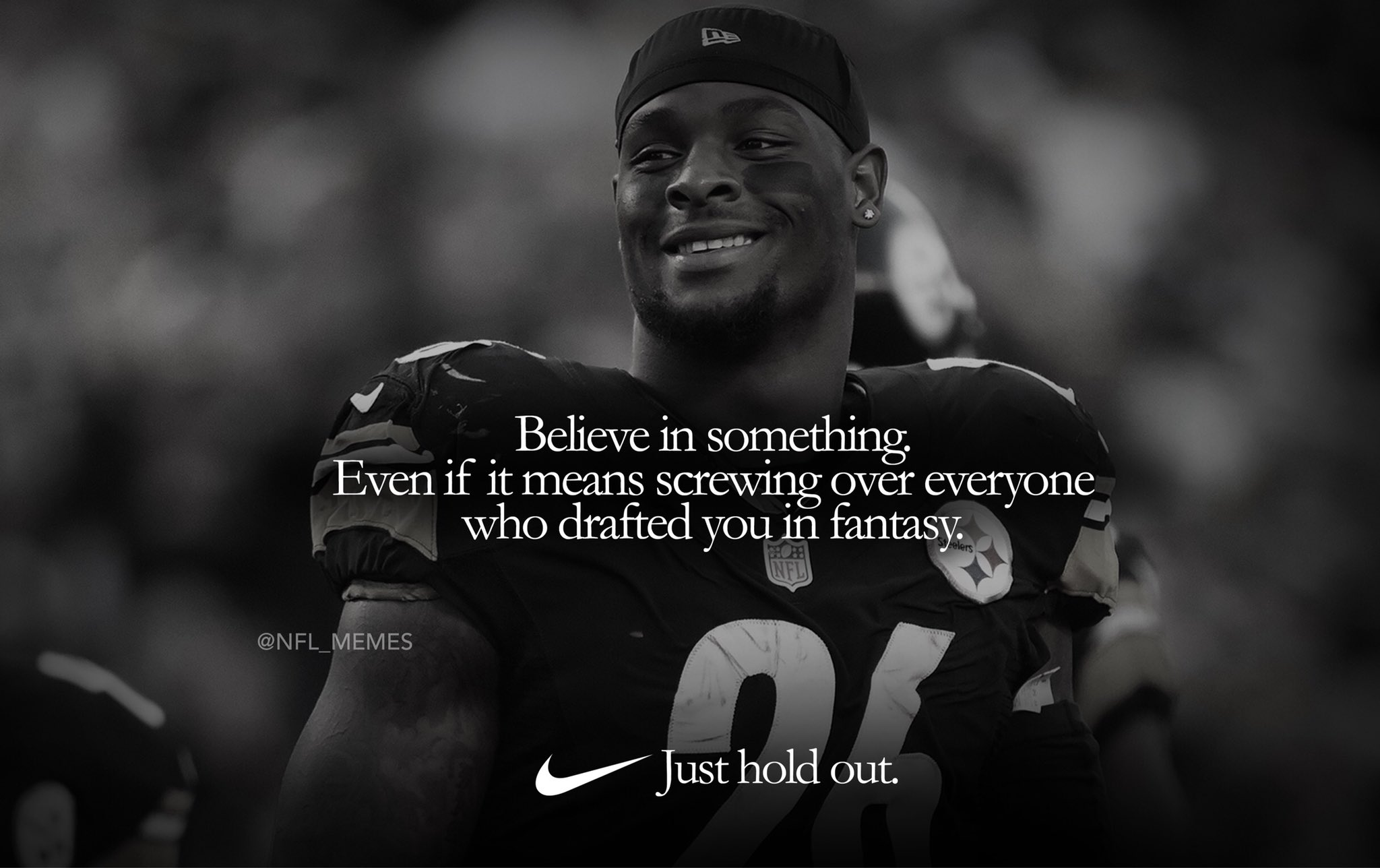 Le'Veon Bell's new Nike ad... https://t.co/96Z1RxZih0