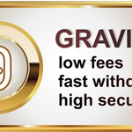 Image for the Tweet beginning: 📢 #GRAVIEX trading volume today