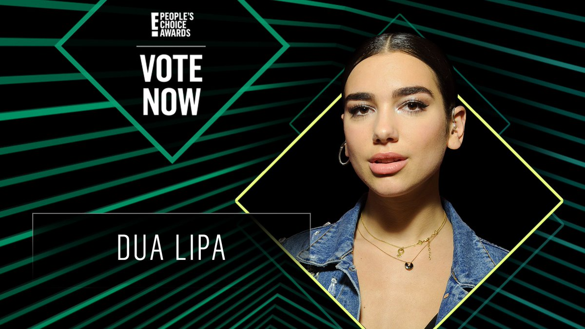 Vote for Dua Lipa by retweeting this post: #DuaLipa #TheFemaleArtist #PCAs