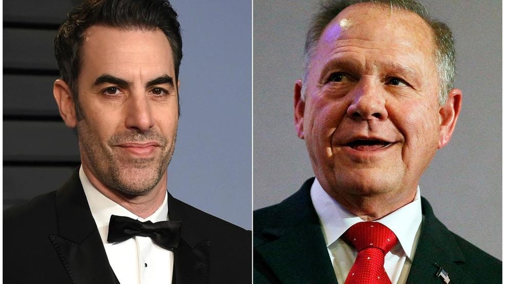 #RoyMoore sues Sacha Baron Cohen over 'defamatory' TV prank https://t.co/vqkzYi8xfU