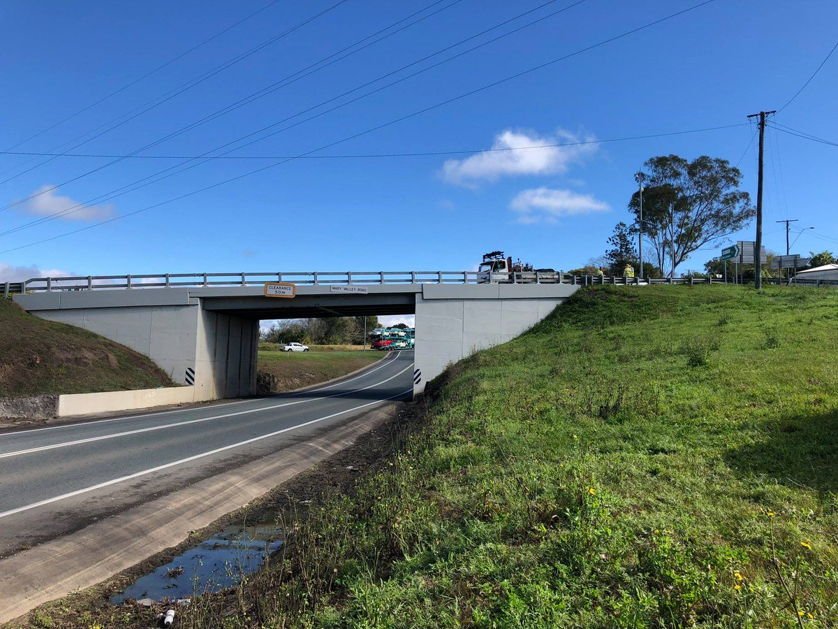 transport main roads on twitter the normanby overpass on the bruce