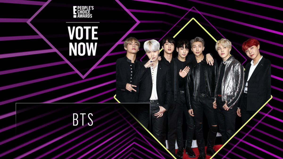 Vote for BTS by retweeting this post: #BTS #TheSocialCelebrity #PCAs