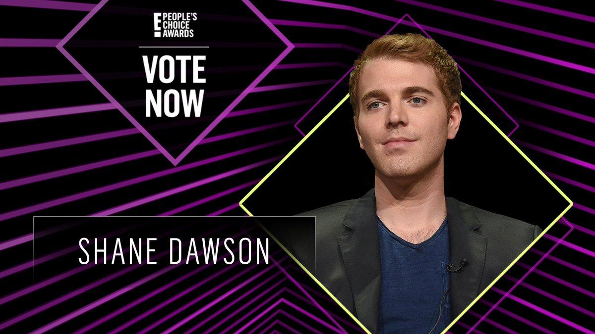 Vote for Shane Dawson by retweeting this post: #ShaneDawson #TheSocialStar #PCAs