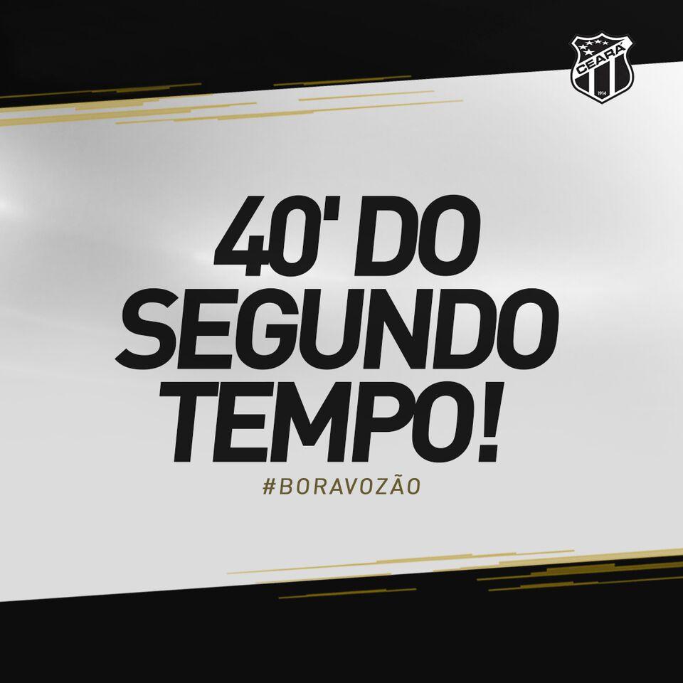 Ceara Sporting Club De On Twitter Ceara 2 X 1 Corinthians Cscxsccp Boravozao
