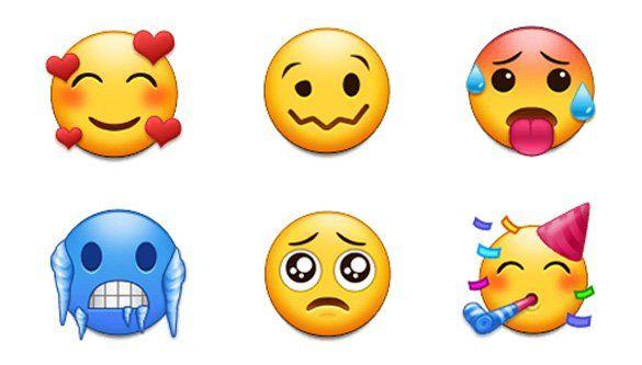 Paste emojis copy List of