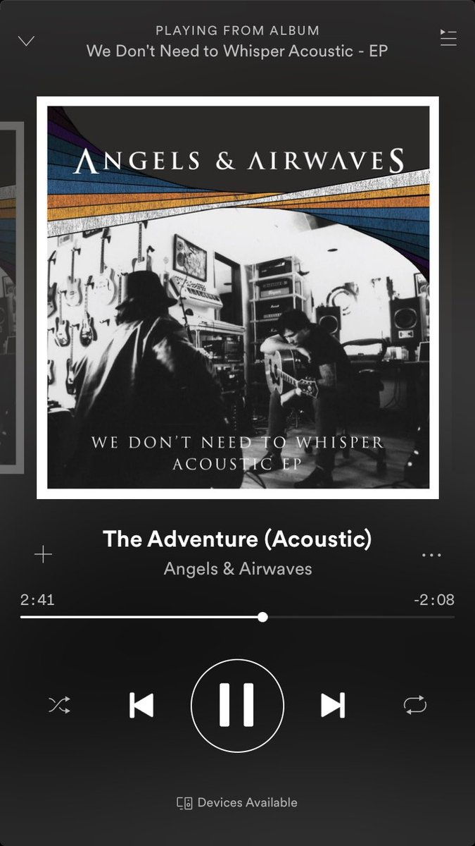 Absolutely beautiful, just like the original from 2006. #theadventure #ava @AVABandOfficial