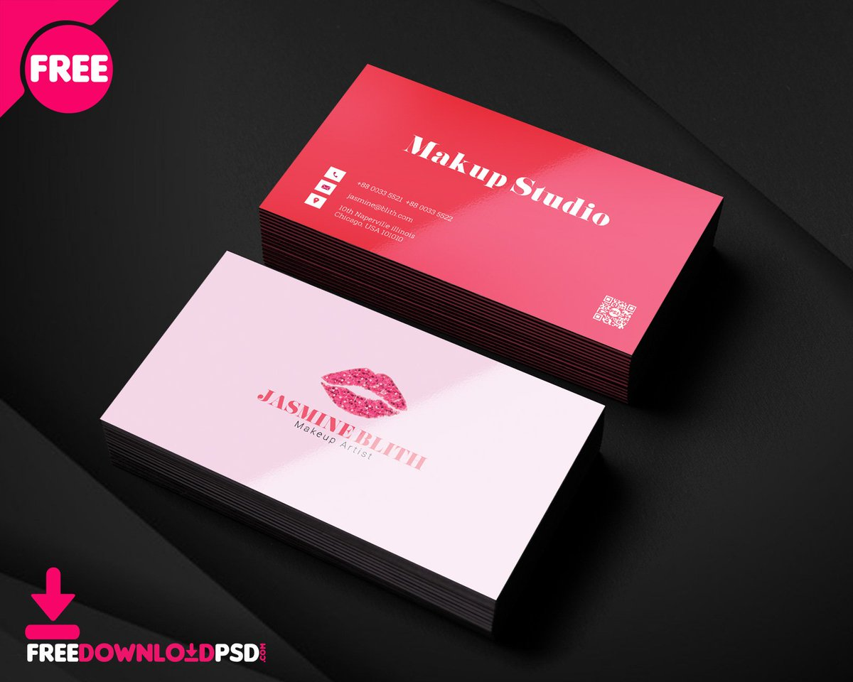 Free download psd on twitter makeup artist business card psd makeup artist business card psd template httptinyurlyam6ep9l beauty parlour business card business card elegant business card fashion business accmission Choice Image