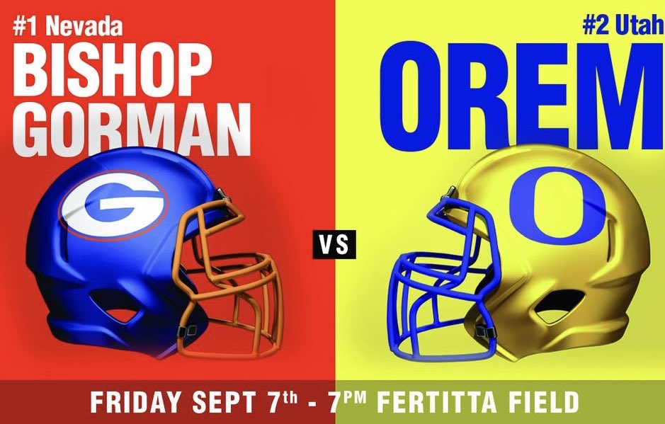 Orem Tigers Football On Twitter Live Streaming Info For Friday S