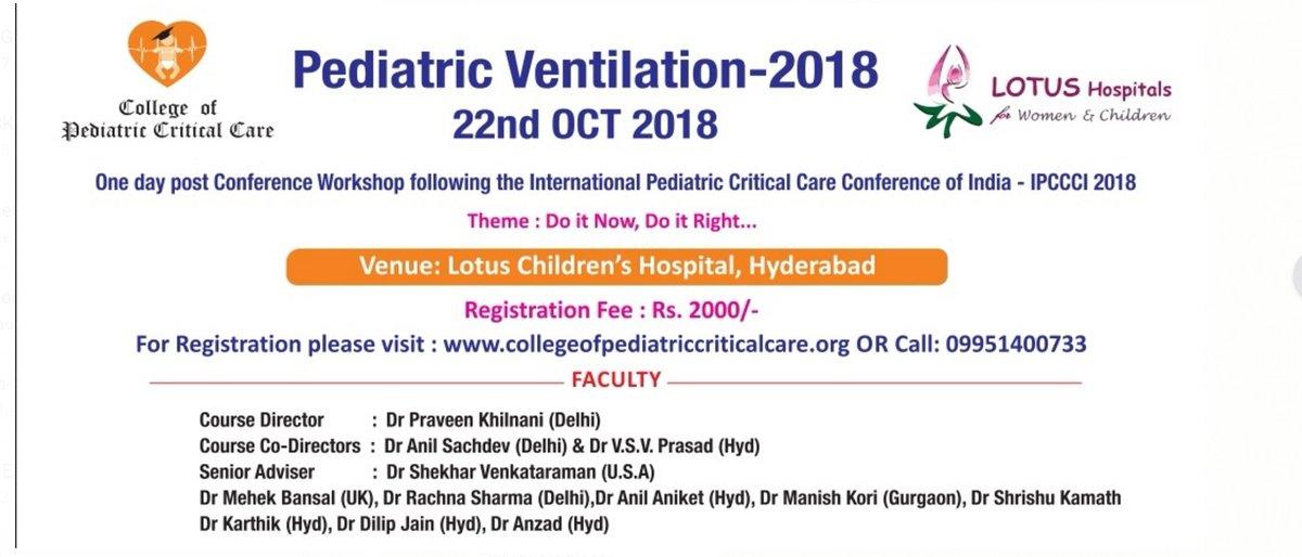 College Of Pediatric Critical Care (@CPCCIndia) | Twitter