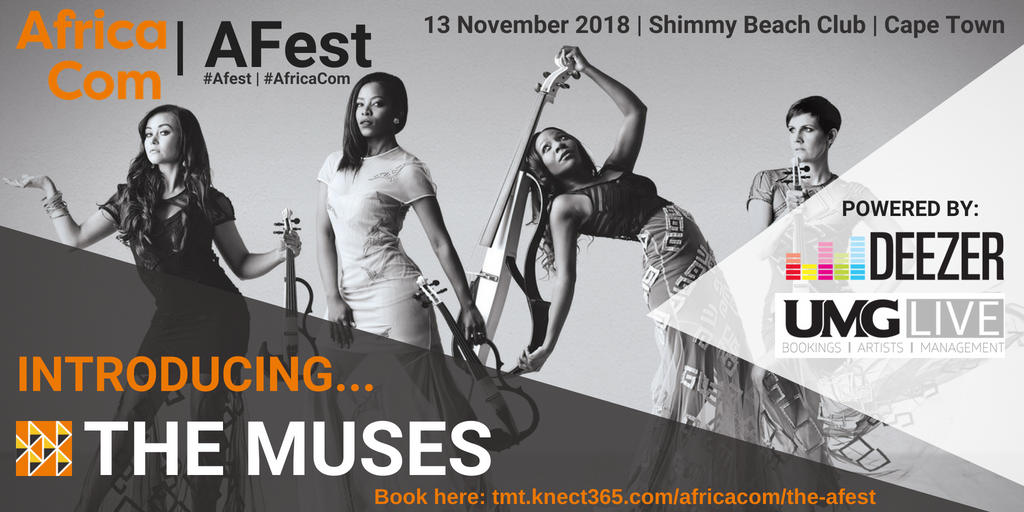 The Muses were performing live at AfricaCom's Afest.