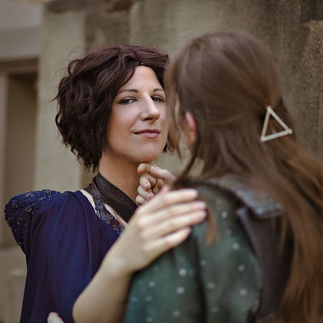 Thx for your kind words ❤️❤️❤️ Aaand here's the next one!  Yara/Asha - @m2.cosplay  Ellaria me Pic by @wuselchen_tofu . #gameofthrones #got #ellariasand #yaragreyjoy #cosplay #cosplaygirl #gotcosplay #hbo #strog #austriancosplayer #costume #sewin…