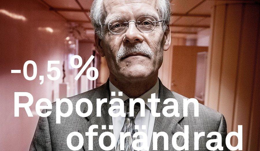 Riksbanken ror inte rantan 1