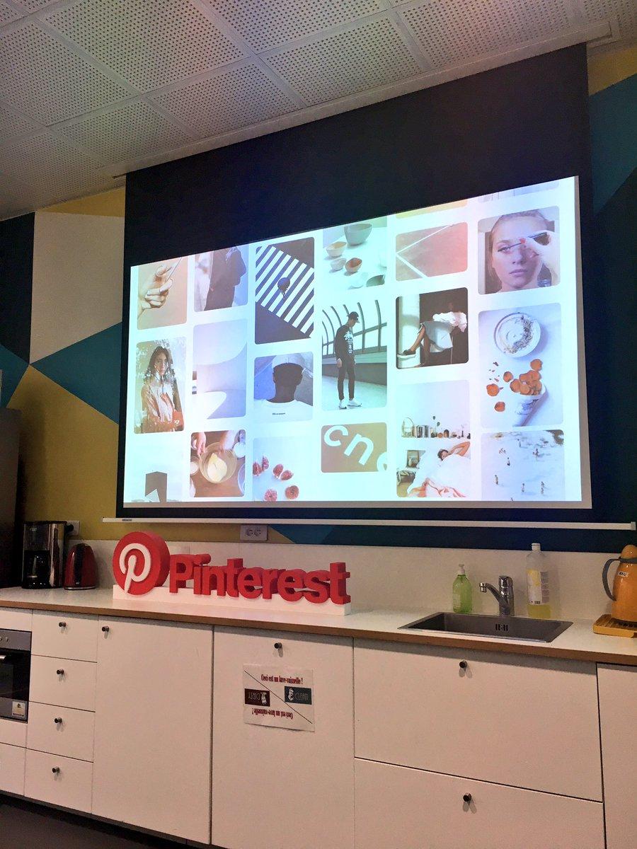 « #Pinterest, une application de découverte visuelle » - morning chez @PinterestFR 📷 #Socialmedia