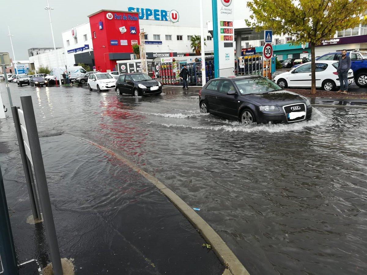 Météo Languedoc On Twitter Inondation En Point Bas Au Grau
