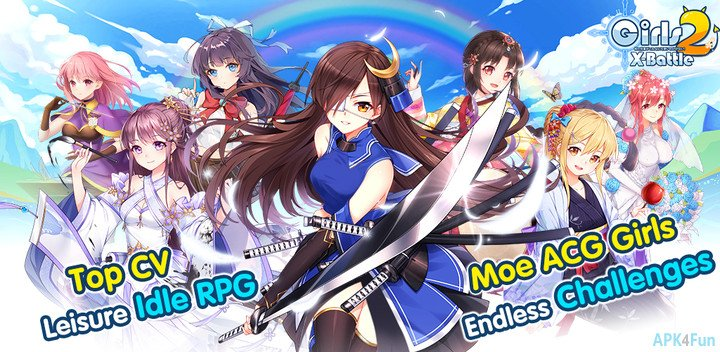 APK4Fun On Twitter New Anime Girl Idle RPG Card Game Girls X