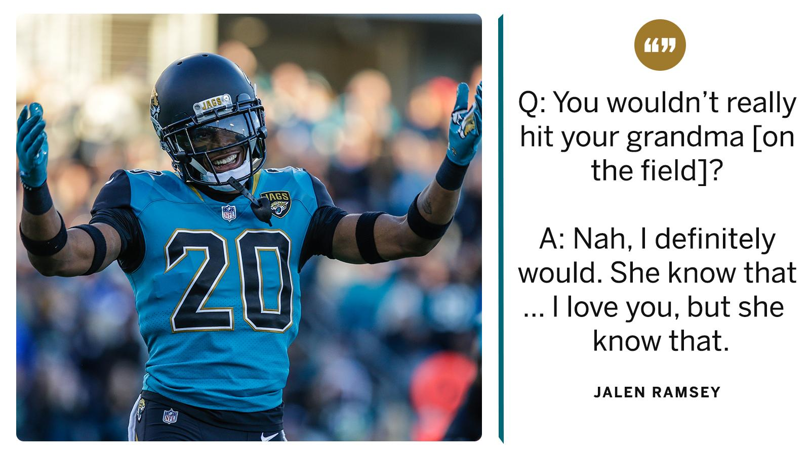It doesn't matter who's lining up against @jalenramsey �� https://t.co/DYjJaDffv2