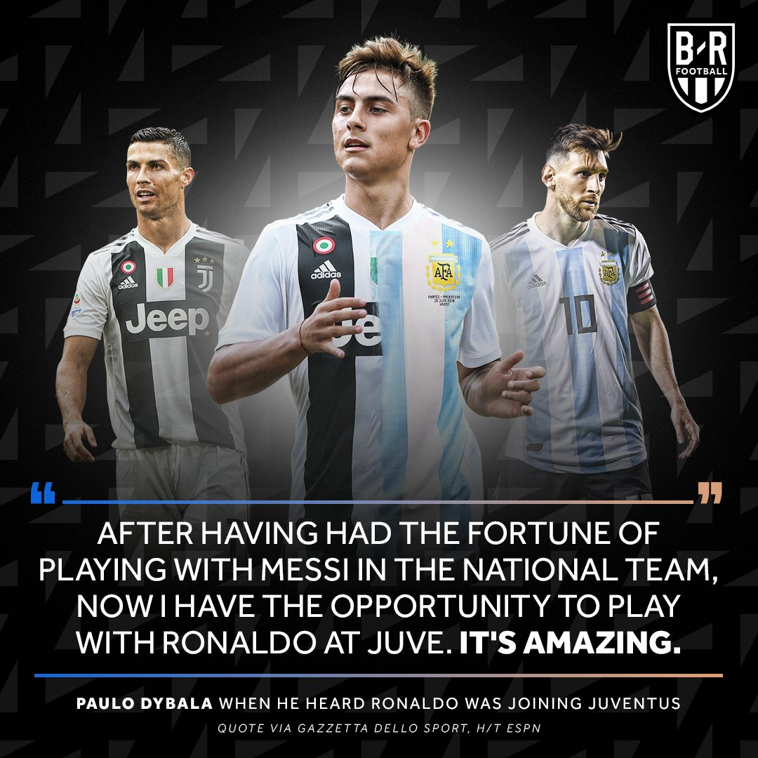 Paulo Dybala gets the best of both worlds 🔛