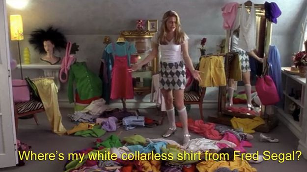 Me trying to decide what to wear to host CLUELESS tonight drafthouse.com/houston/show/a…