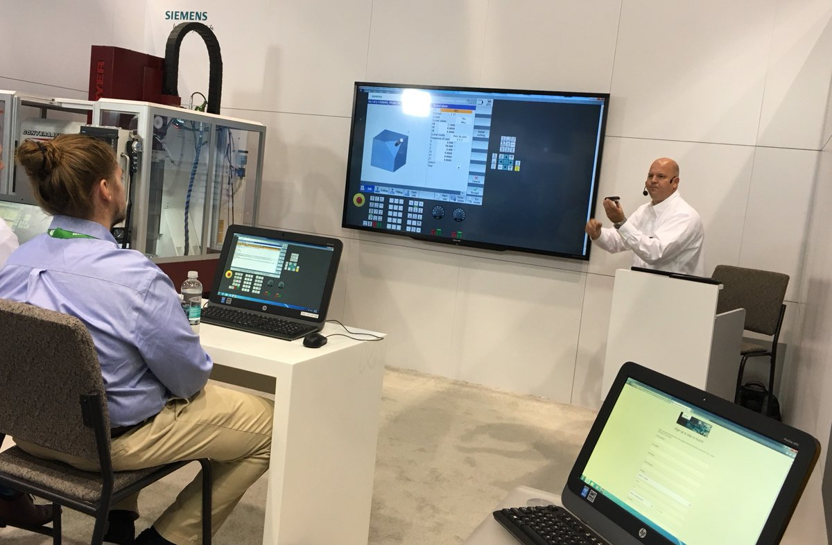 Amazing Siemens Cnc Usa On Twitter Another Full House In Our Download Free Architecture Designs Scobabritishbridgeorg