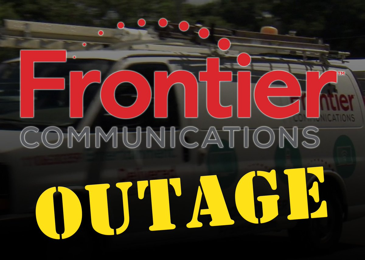 There Is A Frontier Outage In The Tampa Area According To Company