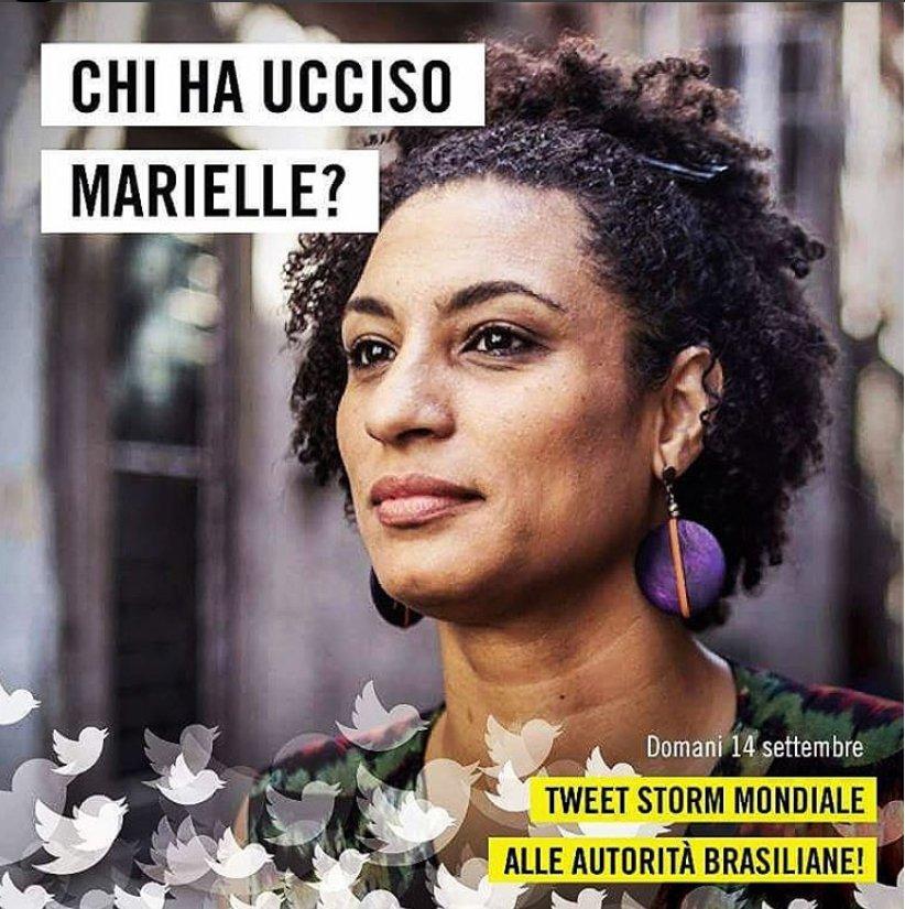 Domani, dalle 12:00, accedete tutti a Twitter: bombarderemo le autorità brasiliane di tweet su #MarielleFranco, attivista per i diritti uccisa 6 mesi fa.  - Ukustom
