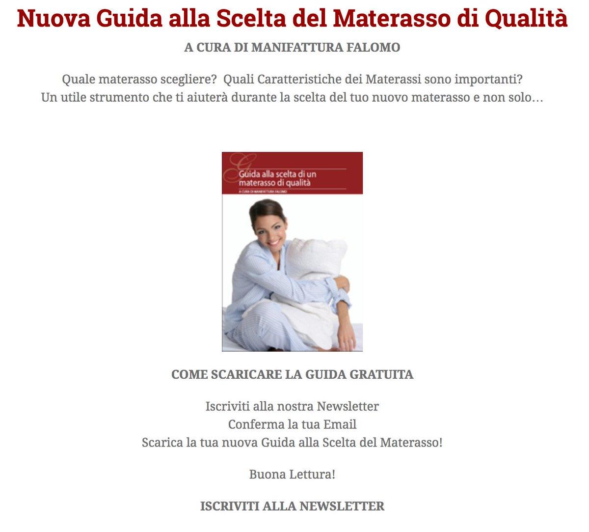 La Scelta Del Materasso.Il Sanodormire On Twitter Nuova Guida Alla Scelta Del Materasso