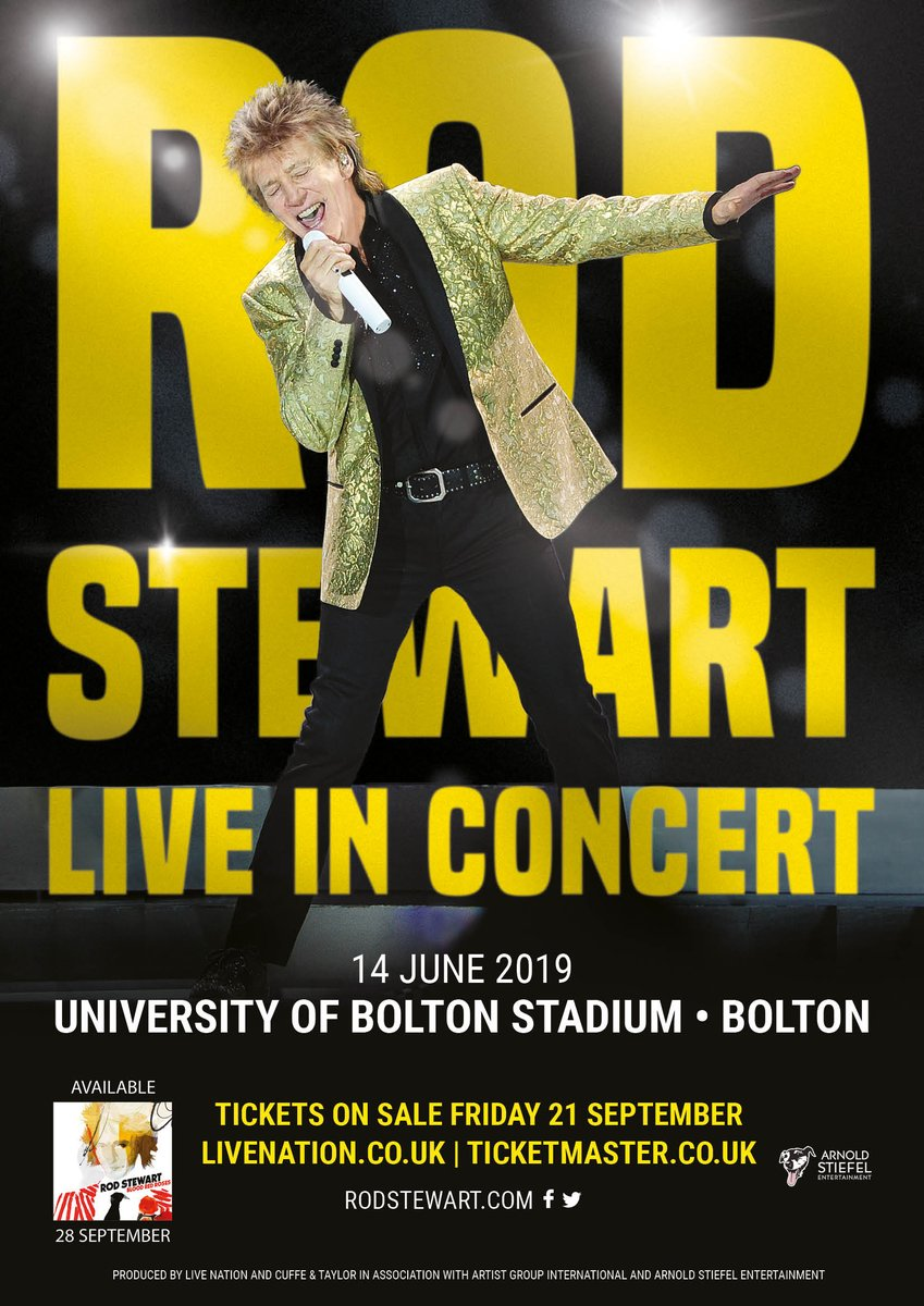 Rod Stewart to be the next at the University of Bolton Stadium  Dm_HQEcXoAMMBsw