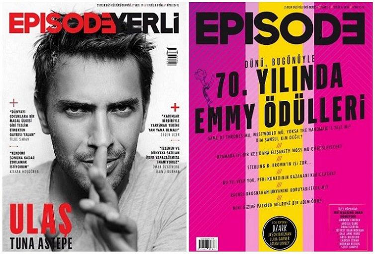 Dizi kültürü dergisi Episodeun üçüncü sayısı çıktı 3