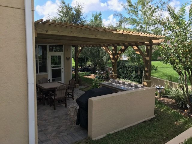 This is a customized attached Big Kahuna Pergola Kit. Click here to get a  custom quote of your own:  https://pergoladepot.com/shop/custom-pergola-kits/ … - Pergola Depot (@Pergoladepot) Twitter