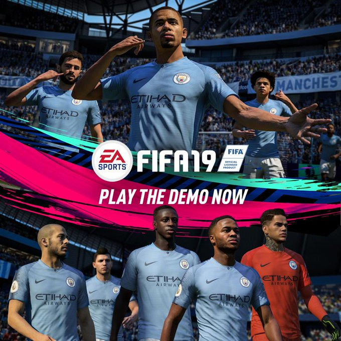 Get in the mood for the return of the #PL with the #FIFA19 demo! Download it now! @EASPORTSFIFA Photo