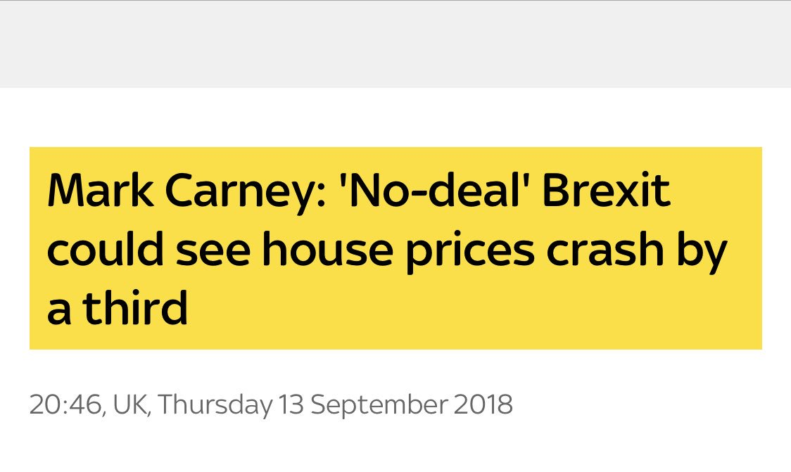 Remainer Carney is the worst person that Hammond could have kept in office, more proof that UK Government no-deal plans are simply not credible.