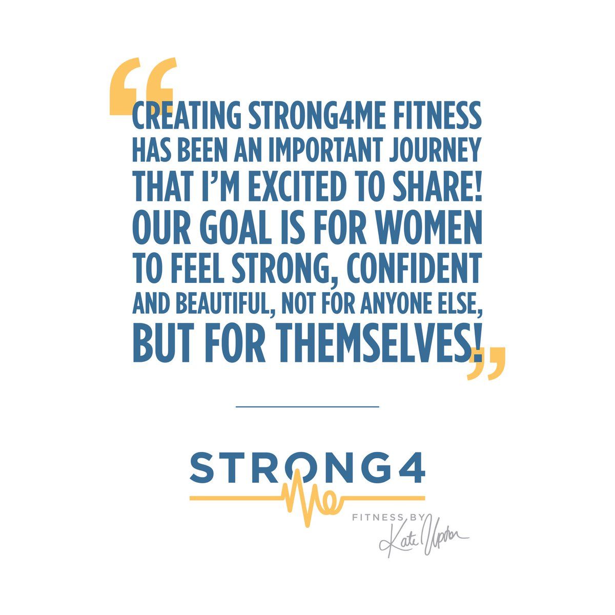 I stopped working out to fit in a certain dress size and hit certain measurements. I wanted to feel strong, confident and healthy for myself! #Strong4ME @Strong4MeFit