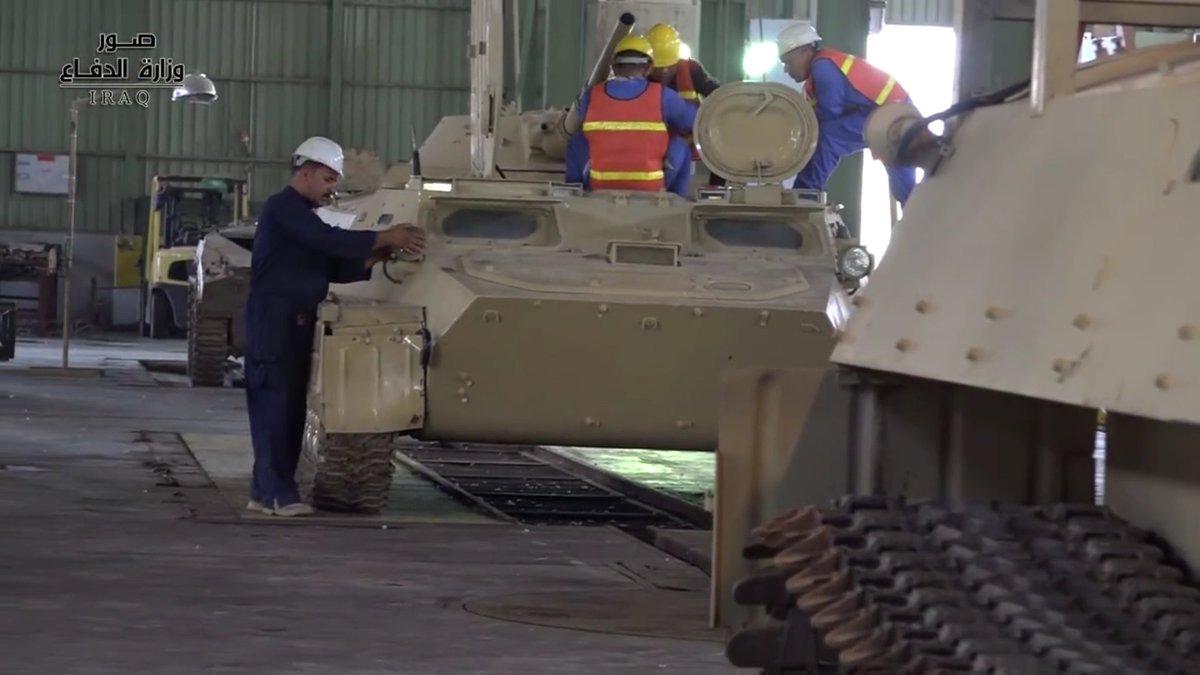 اعاده تأهيل وتصليح معدات واسلحه الجيش العراقي .......متجدد Dm_crpHXsAEEwMp