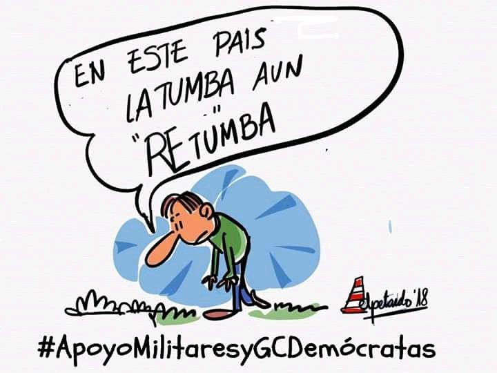 #ApoyoMilitaresyGCDemócratas