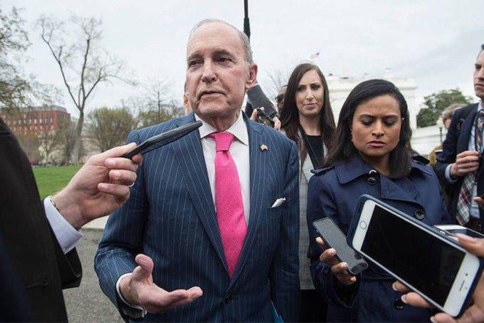 Quién es Larry Kudlow, el consejero de Trump que recomienda volver a la convertibilidad. Photo