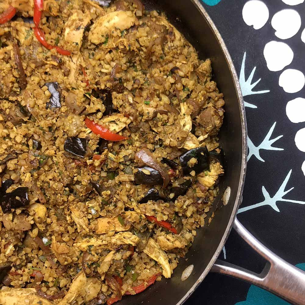 Low Carb Keto Chicken and Eggplant Biryani — Resolution Eats https://t.co/dnmVOWZPMh https://t.co/uKmdlxK1t9