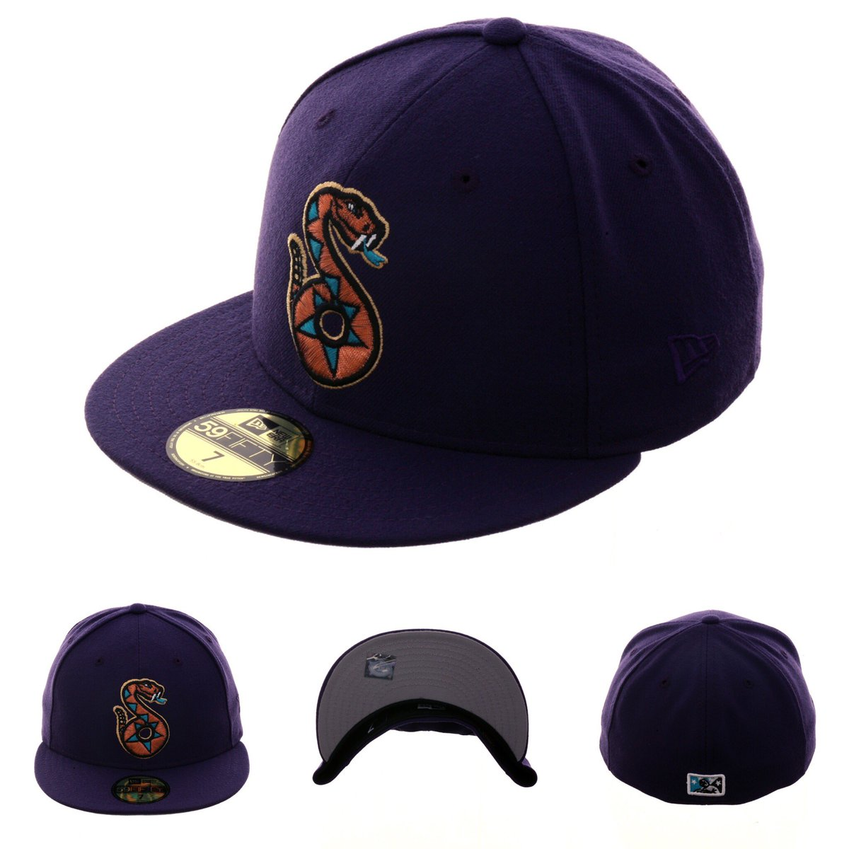size 40 2c14b bb431 ... https   www.hatclub.com collections new-arrivals-1 products exclusive- new-era-59fifty-tucson-sidewinders-hat-purple …