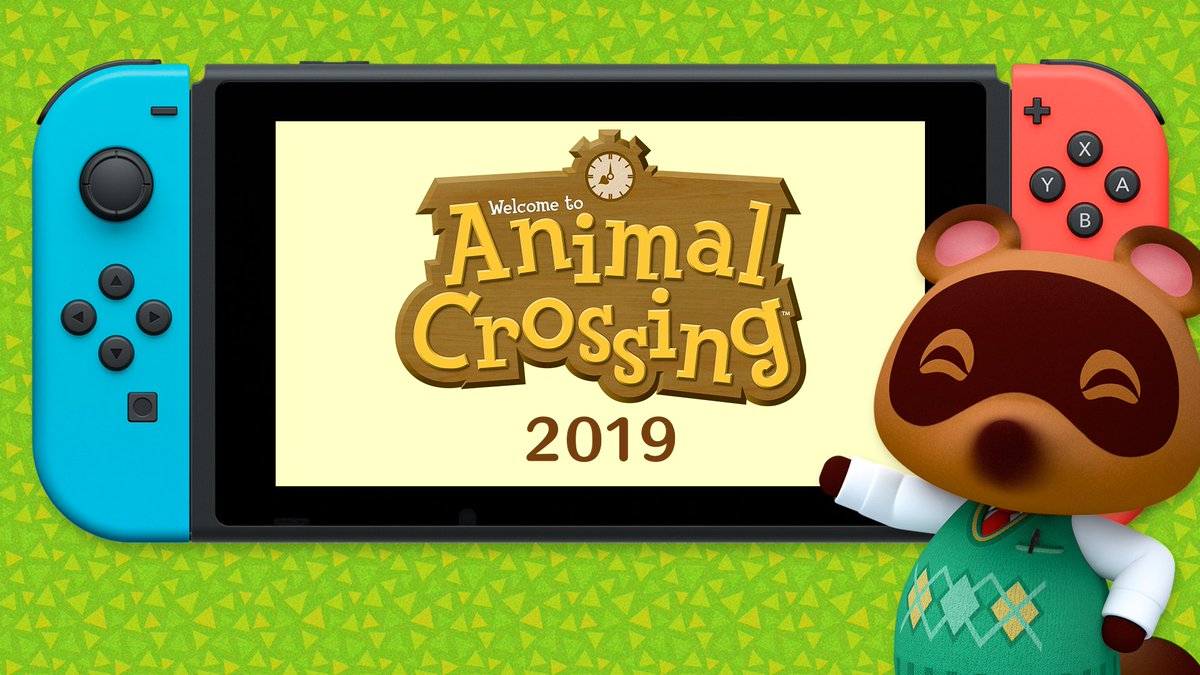 Tom Nook has a special announcement...! ‼️ How exciting! I hope Ill see you all again soon! #AnimalCrossing #NintendoSwitch #NintendoDirect