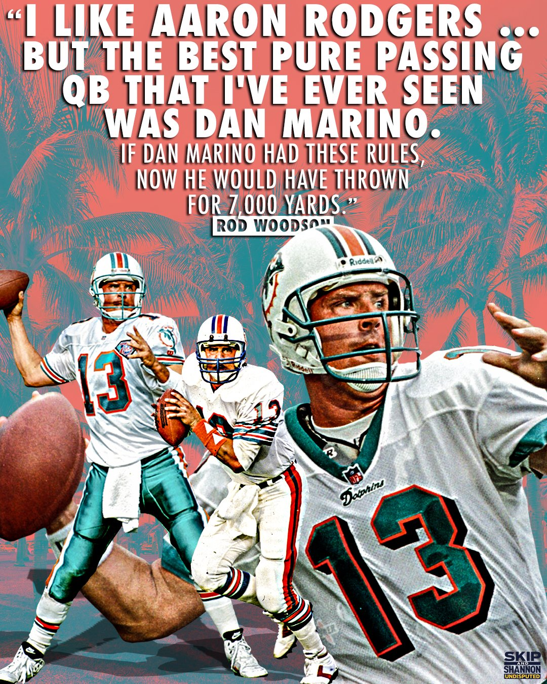 """UNDISPUTED on Twitter: """"Marino's Active records Most ..."""
