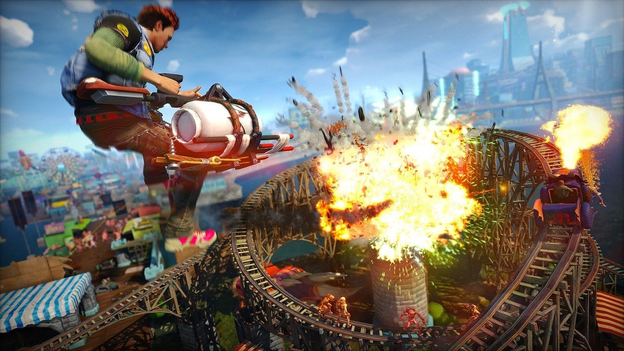 Insomniac would love to make a 'large-scope' sequel to Sunset Overdrive.   https://t.co/86Ks7Vqtuz https://t.co/5Km6jDEUoz