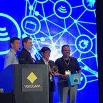 Félicitations à @DrBobCS et Shannon Vasseur de @WilliamsUpdates et à Amit Ajmeri de @chevronphillips qui a remporté les meilleures présentations 2018 lors de la conférence #Yokogawa Users!