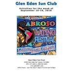 Image for the Tweet beginning: Sabroso Latin Festival at #GlenEdenSunClub!