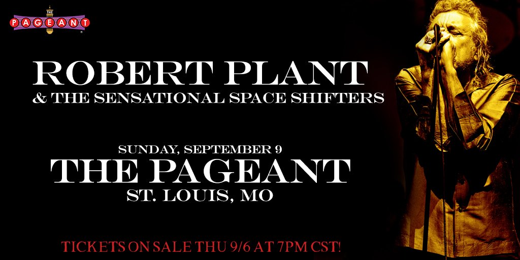St. Louis—so sorry that @LouFest was canceled. However, RP & the Sensational Space Shifters will kick off their US tour at @ThePageantSTL this Sunday! Tickets on sale tonight at 7pm CST: ticketmaster.com/event/06005525…