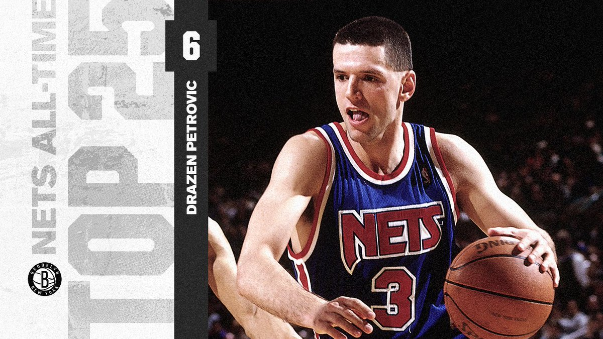 be32b9d3adf We re counting down the Top 25 players in Nets history. Drazen Petrovic is  third in NBA history with a .437 3-point shooting percentage.