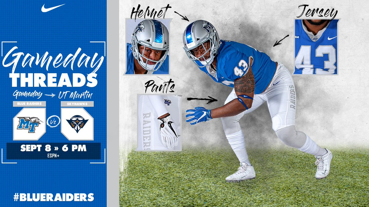 new concept 2ad9b 258a2 Middle Tennessee FB on Twitter: