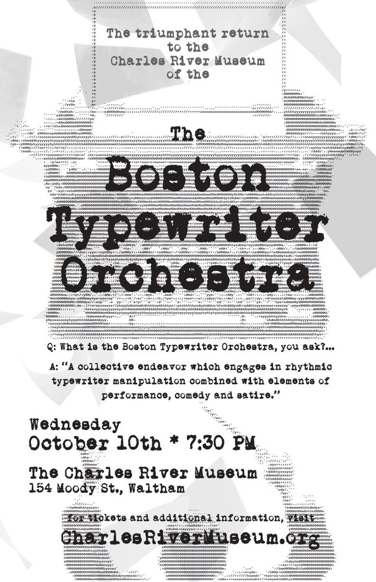 Charles River Museum On Twitter Q What Is The Boston Typewriter